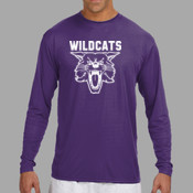 Wildcats - N3165 A4 Long-Sleeve Cooling Performance Crew Neck T-Shirt