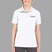EMB - 8210L UltraClub Ladies' Cool & Dry Mesh Piqué Polo